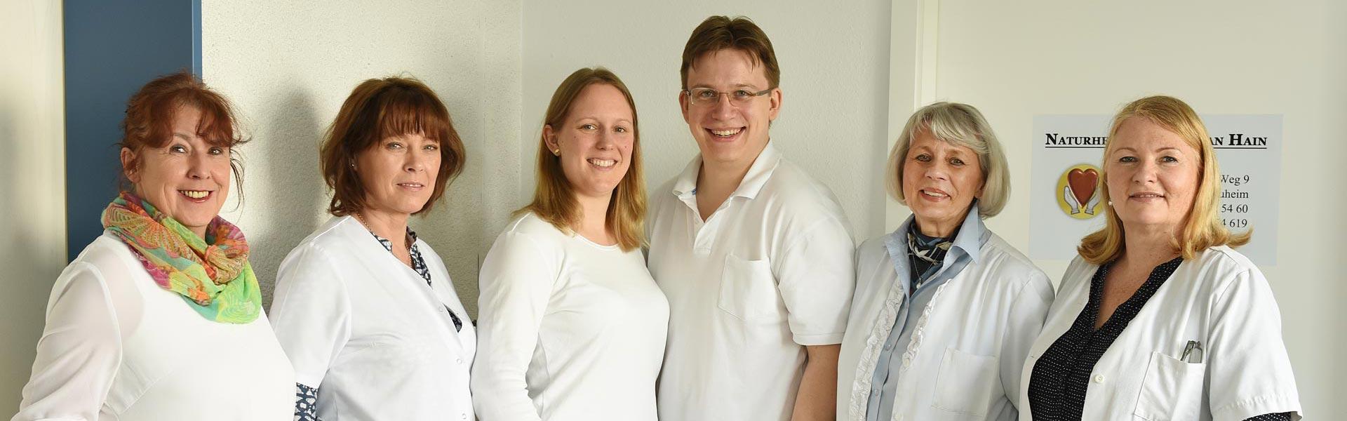 Heilpraxis Fabian Hain Team