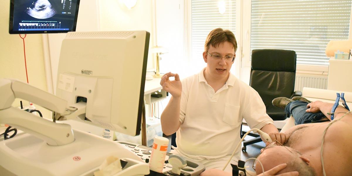 Ultraschall Diagnose Fabian Hain